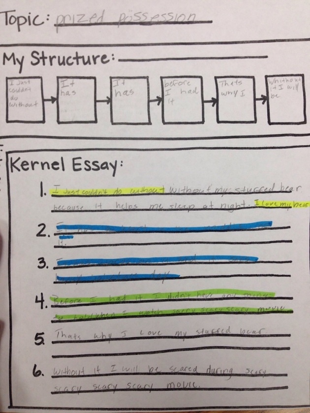 expository kernel essay Kernel essays and text structures go hand in hand and are the perfect launching  point for getting authentic writing out  primary expository blueprint (3 pages.